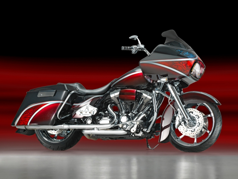 Road Glide Candy Red Dragon
