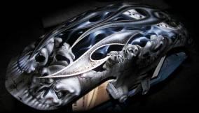 Skulls and Flames on Tins
