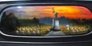 Key West Cemetery Mural