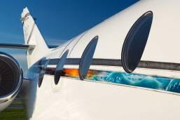 Falcon Jet Exterior Shot