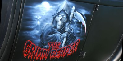 Grimm Reaper Mural