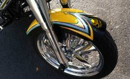 Harley-Davidson with Silver Leaf