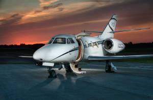 Jet Sunset Photo
