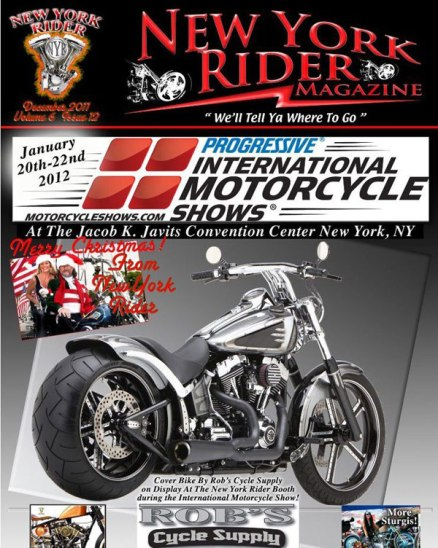 New York Rider Cover Shot