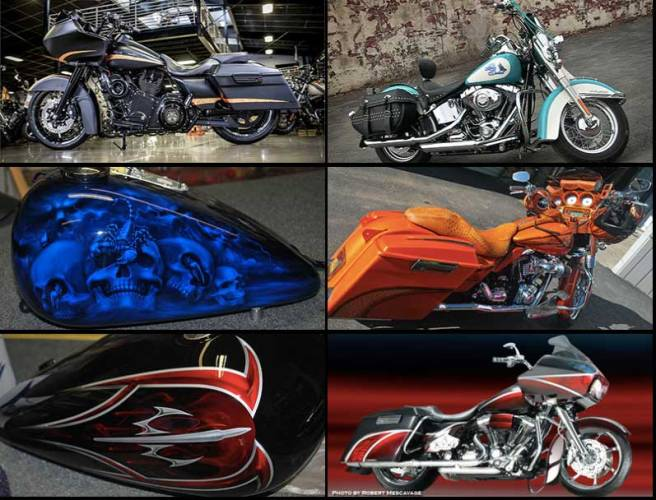 Painted Motorcycle Images